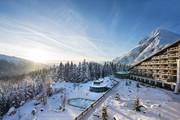 Interalpen Hotel Tyrol - Außenansicht Winter © Interalpen Hotel Tyrol