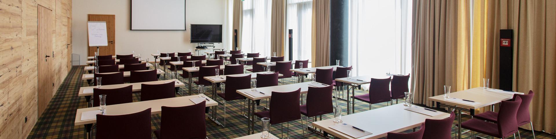 Falkensteiner Hotel Schladming - Seminarraum Parlamentbestuhlung  © Falkensteiner Hotels & Residences