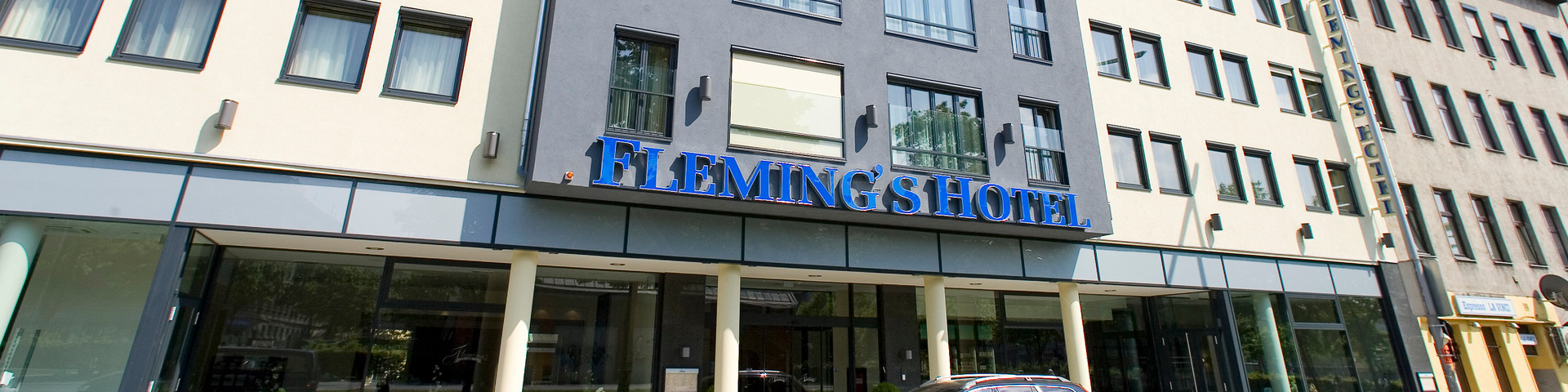 Fleming's Hotel Wien-Westbahnhof - Aussenansicht © Fleming's Hotels & Restaurants