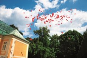 Bergschlössl - Hochzeit mit Ballons © DesignCenterLinz