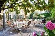 Hotel DAS TRIEST - Innenhof © Das Triest