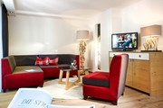 Hotel Ritzlerhof - Suite Roter Kogel Wohnbereich © Hotel Ritzlerhof