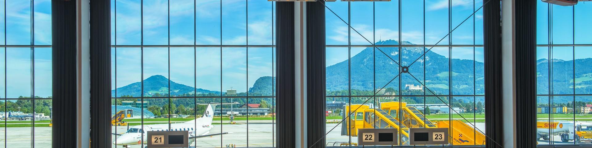 amadeus terminal 2 - Blick nach draussen © amadeus terminal 2