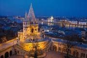 Hilton Budapest - Ausblick nachts © Hilton Budapest