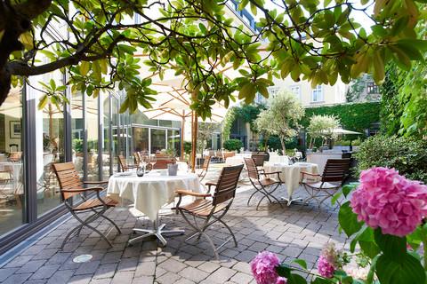 Hotel DAS TRIEST - Innenhof © Hotel DAS TRIEST